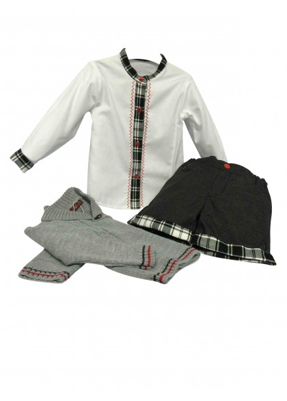 "Conjunto y Jersey Niño ""London"" de LOAN BOR"
